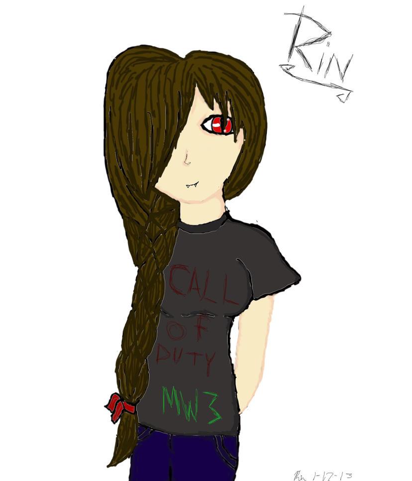 Rin with braid by brianimerocks4life