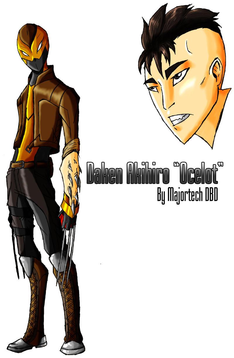 Daken'Ocelot'IH design by IHComicsHQ
