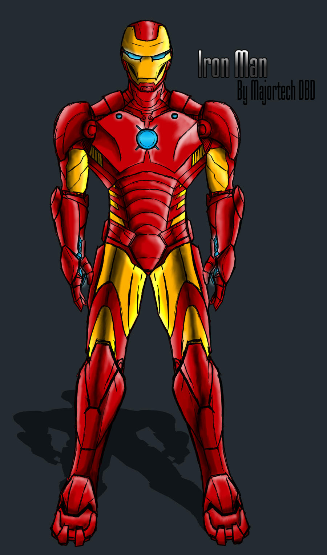 Iron Man IH Design by IHComicsHQ on DeviantArt