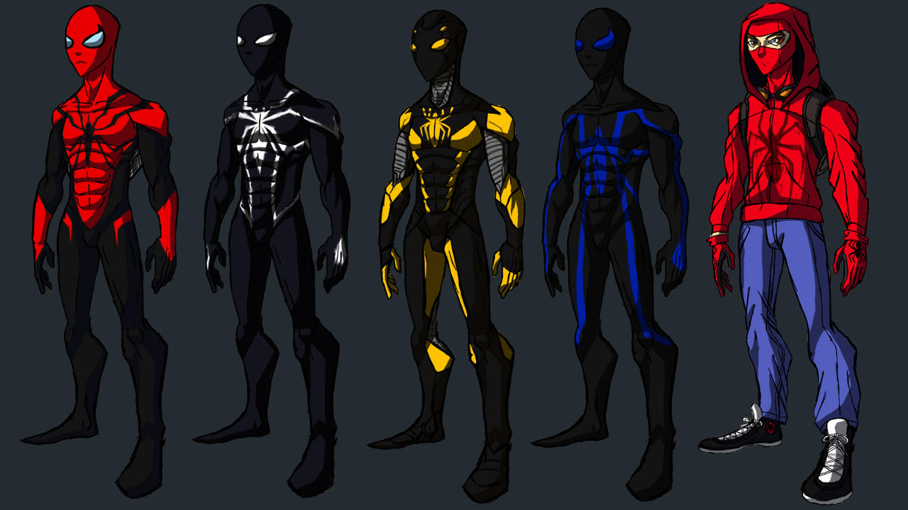 Spider-Man IH Design by IHComicsHQ