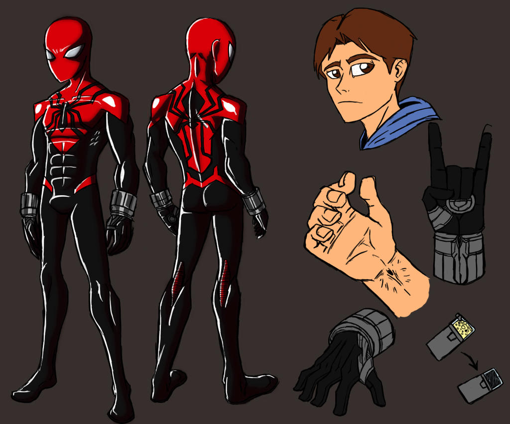 marvels spiderman costume part 2 page 3 the
