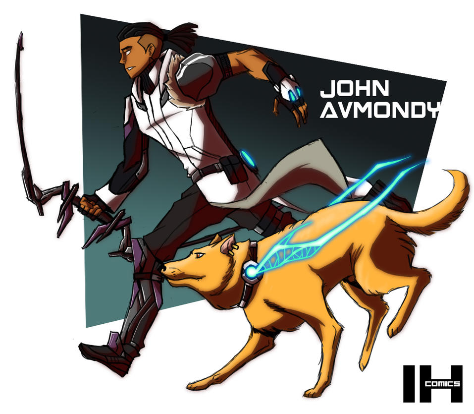 John Avmondy by IHComicsHQ