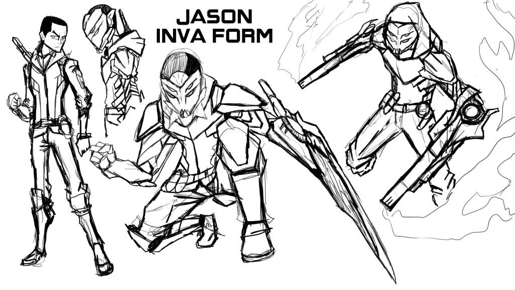 Jason Inva Form by IHComicsHQ