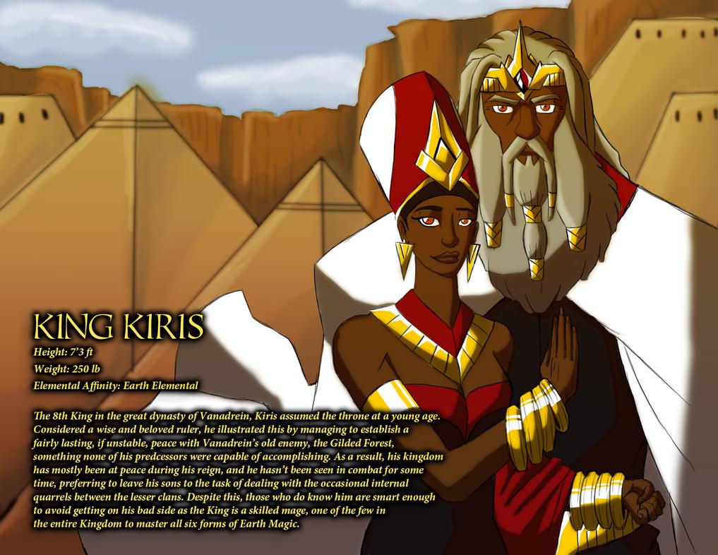 King Kiris and Queen Hemadri by IHComicsHQ