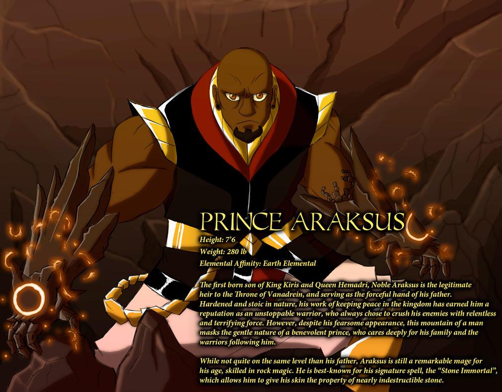 Prince Araksus by IHComicsHQ