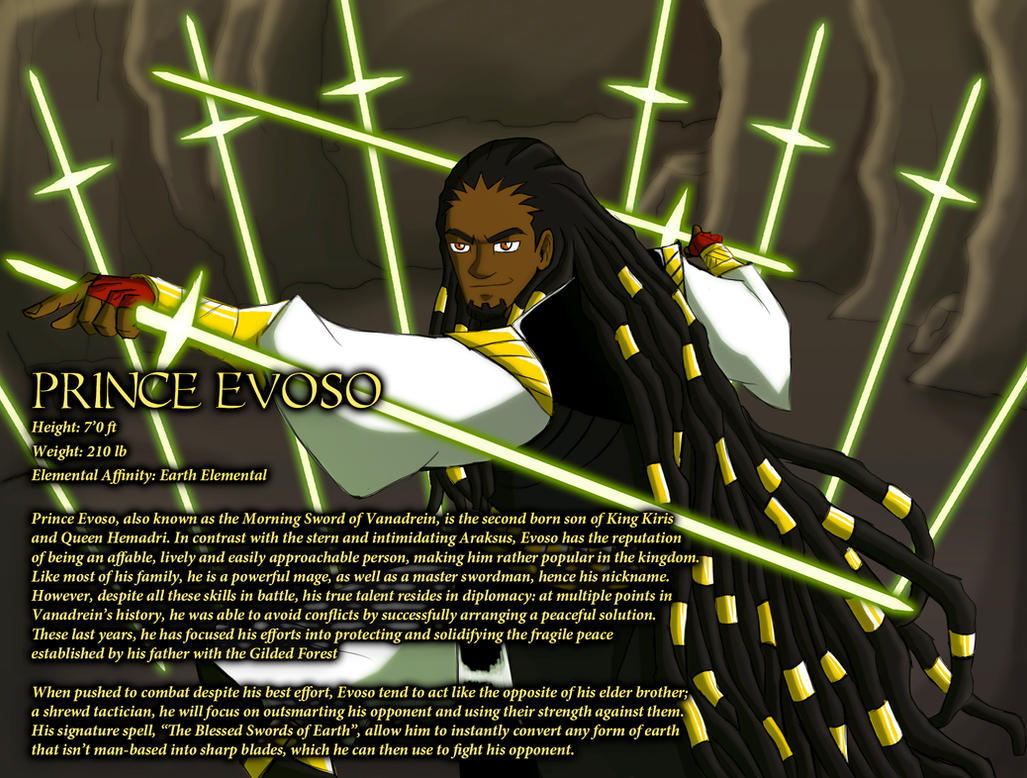 Prince Evoso by IHComicsHQ
