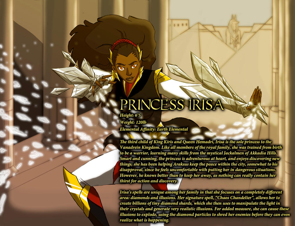 Princess Irisa by IHComicsHQ