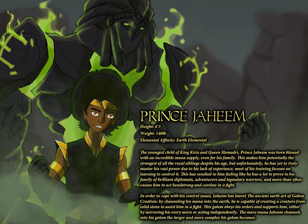 Prince Jaheem by IHComicsHQ