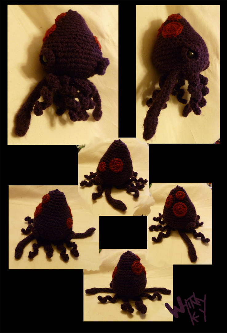 Crochet Squid by Merlend