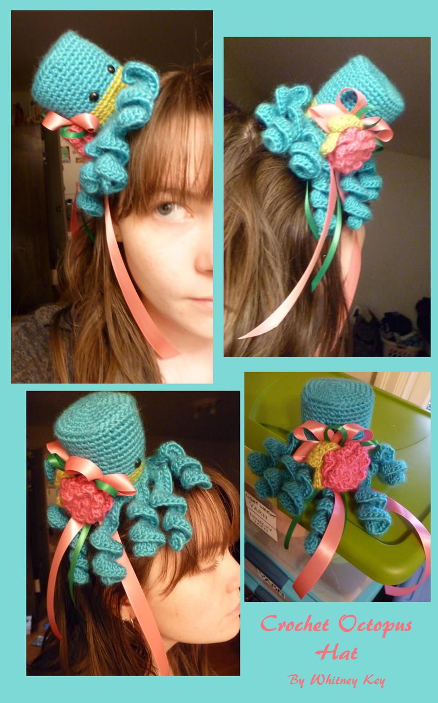 Tiny Crochet Octopus Top Hat by Merlend on DeviantArt