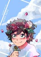Izuku birthday by SteamingOwl