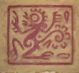 Aztec Monkey by cebdeSIGN