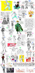 Sketchdump #37 by Clo-Asis