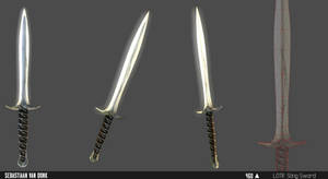 LOTR Sting [Skyrim weapon] by kwant11