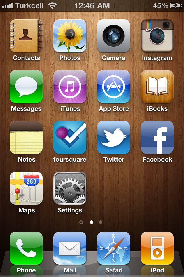 how to add home screen in iphone