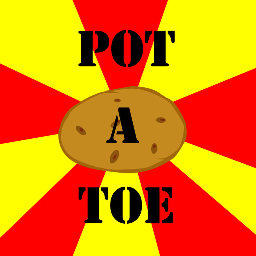POT A TOE by Kassc