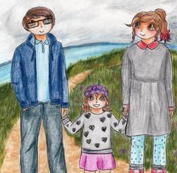 Adrian, Emmy and Joni