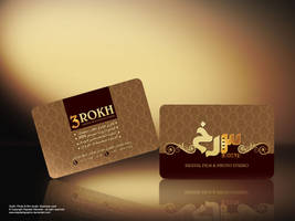 3rokh studio business card by Sepinik