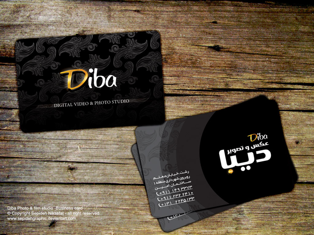 Lanitta 59 6 Diba Photography Business Card By Sepinik