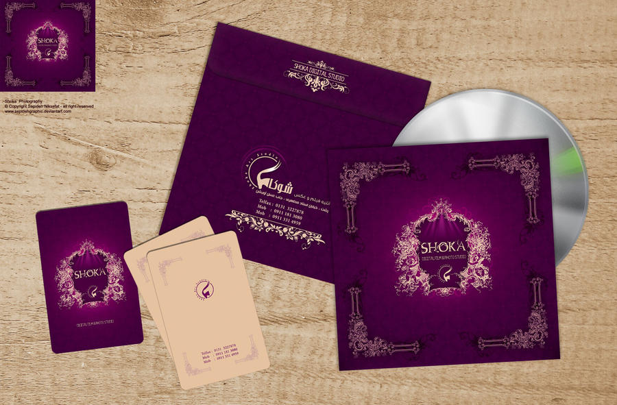 Shoka-CD Cover- Business card by Sepinik on DeviantArt
