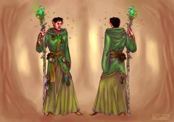 Druid Design [COMMISSION]