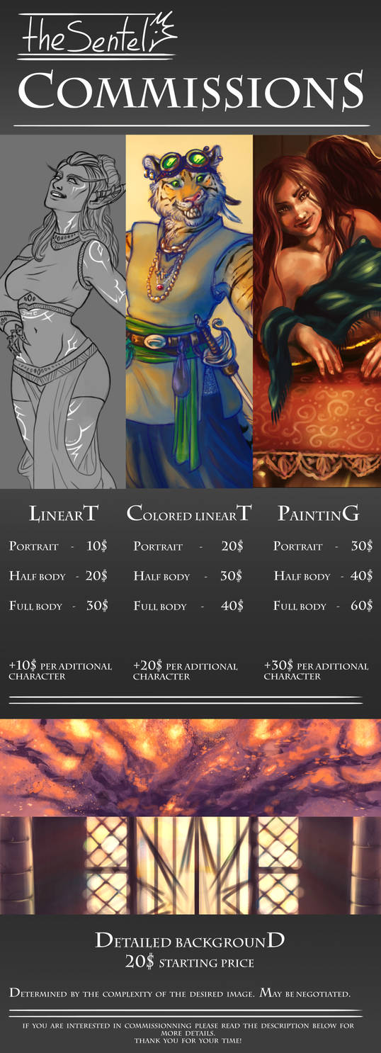 Commission Information [OPEN]
