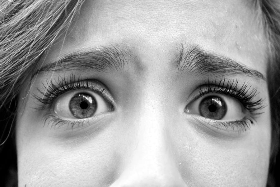 Scared Eyes By AnnaEsp On DeviantArt