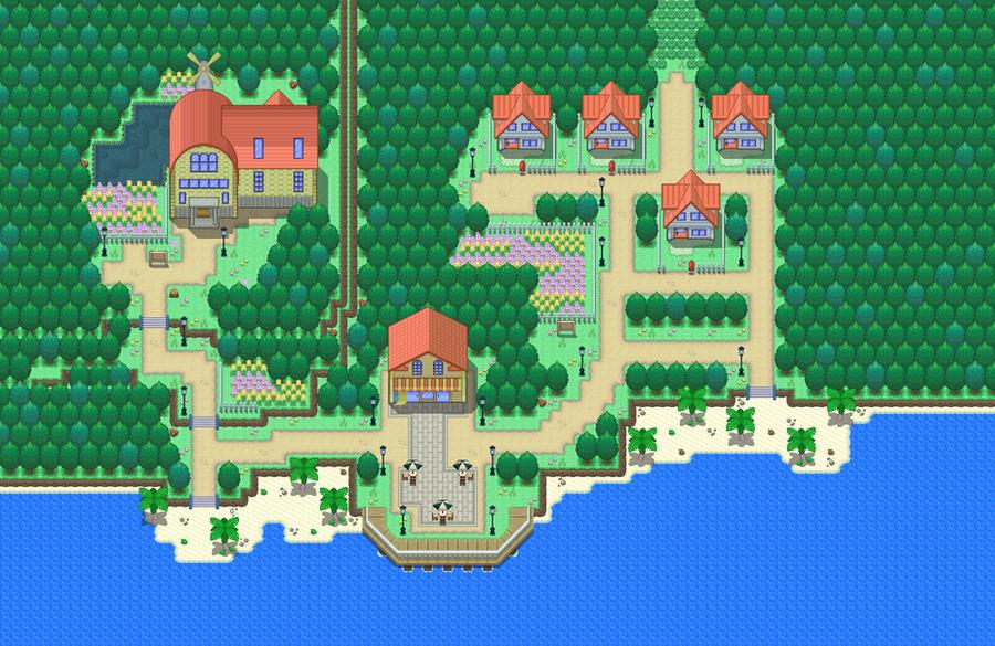 Pokemon Pp Pallet Town By Demise Hawk On Deviantart