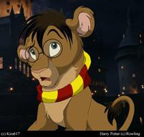 Harry Potter lion...My version by kira617