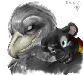Uh, me and Buckbeak I guess by kira617