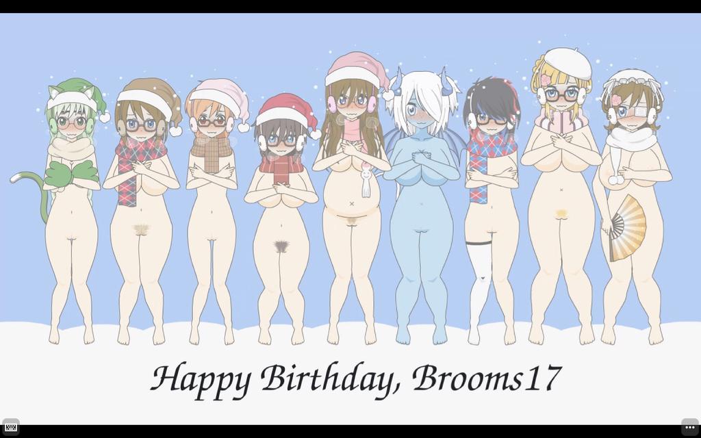 Happy Birthday, Brooms17 by qringstaff