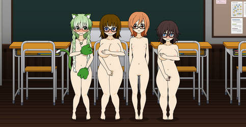 Nude class by qringstaff