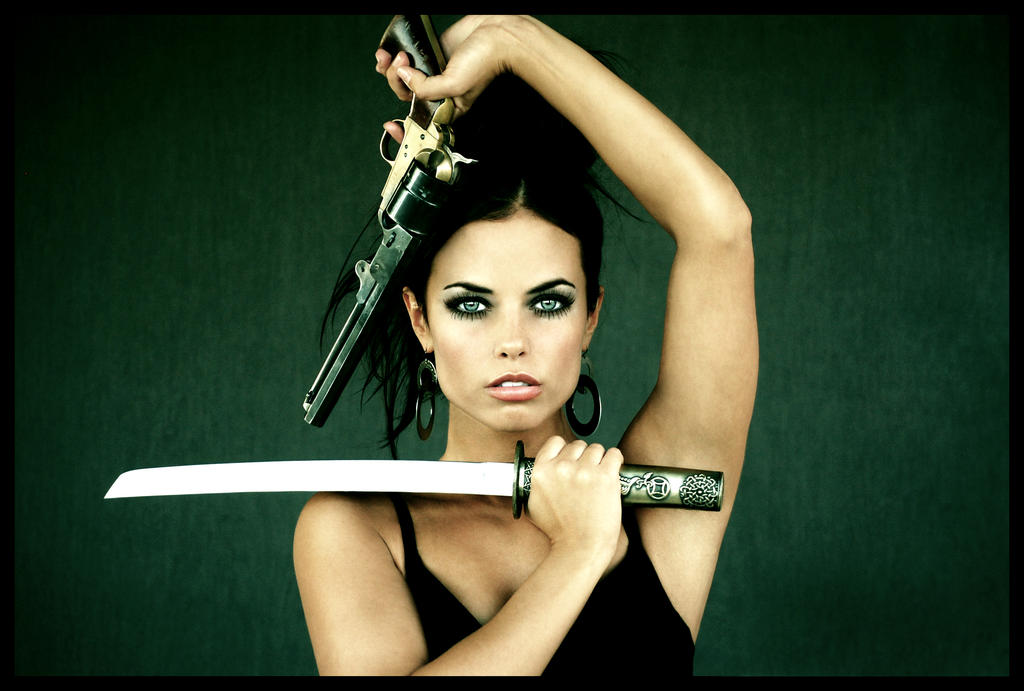 Killer Woman by GuyLeRoy