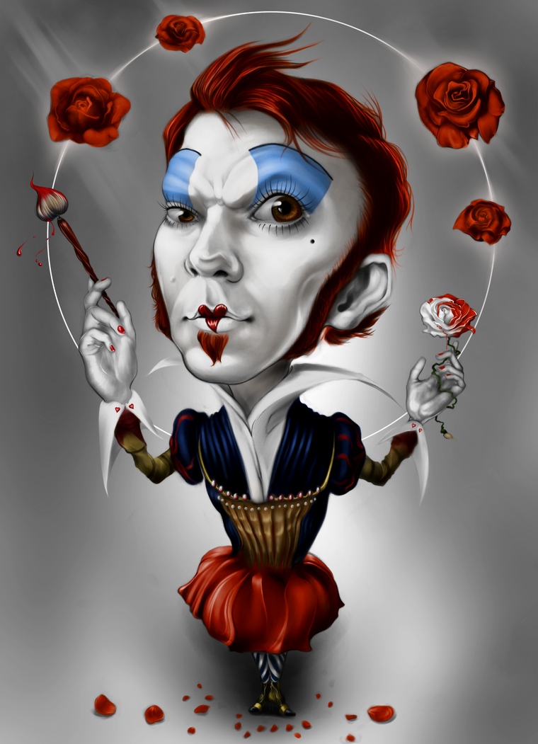 The Bloody Red Queen of Hearts by GuyLeRoy