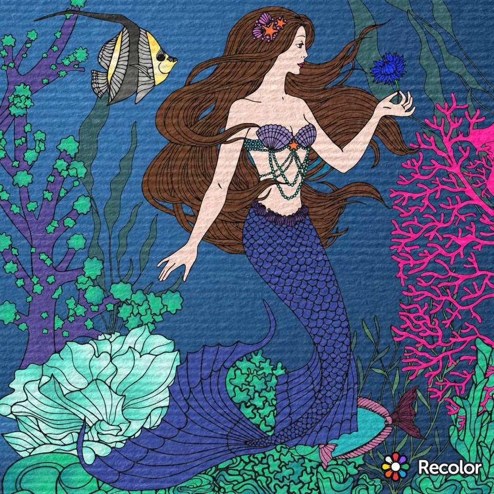 mermaid nicki