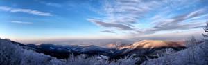 Winter in Pilis