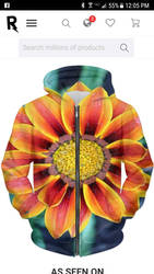 Bright orange sunflower by PicsRmypassion