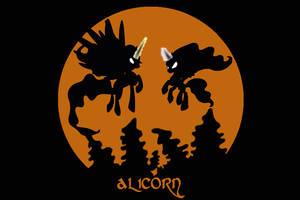 Alicorn Album Cover by Rainb0wDashie