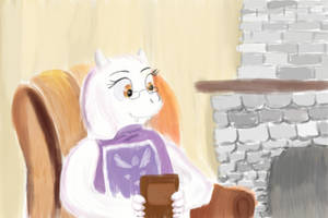 Snail Tales with Toriel by Rainb0wDashie
