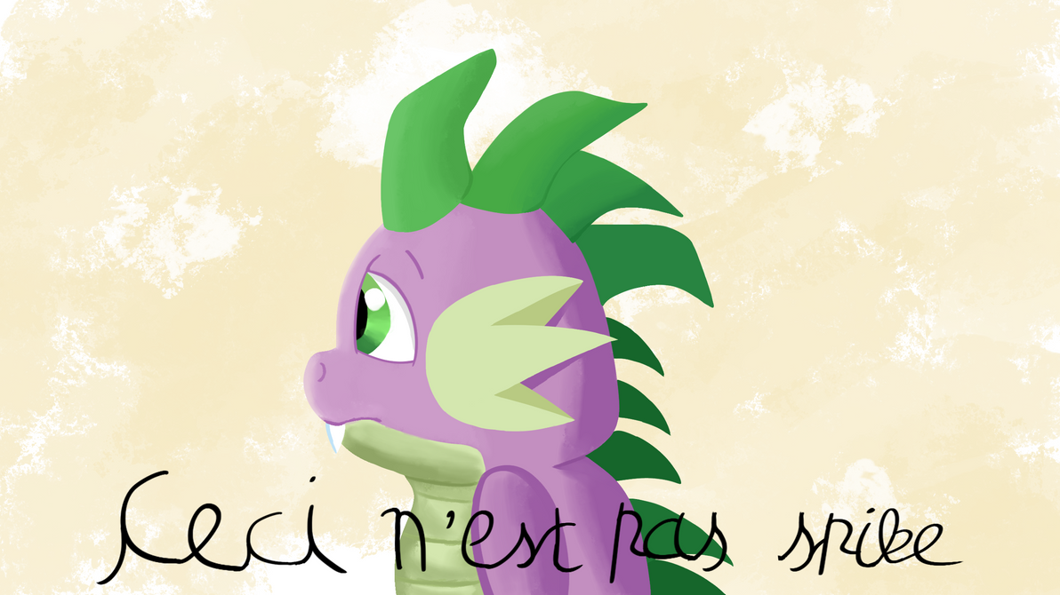 This Is Not Spike by Rainb0wDashie