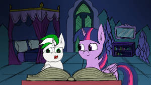 [Commission] Study Time with Twilight