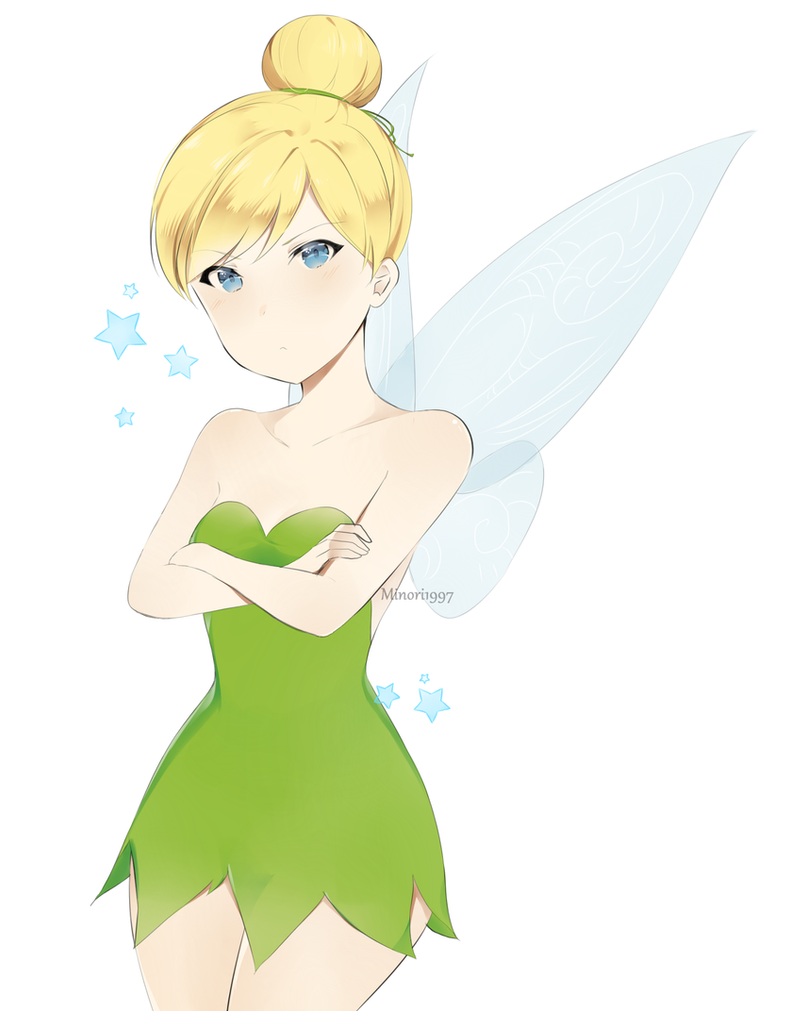 how to draw peter pan and tinkerbell