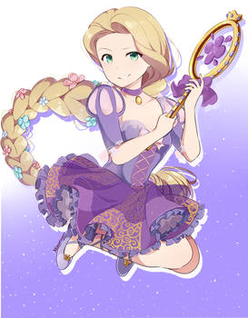 Rapunzel (magical girl form)