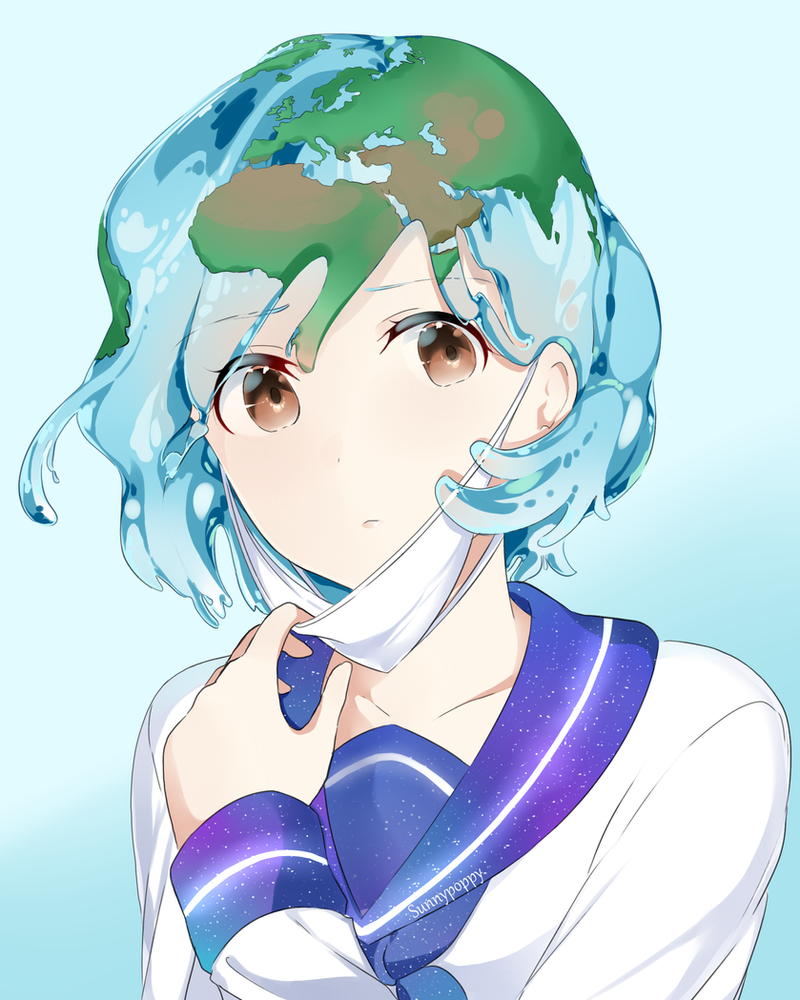 Earth Chan By Sunnypoppy