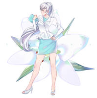Weiss in casual clothes by Sunnypoppy
