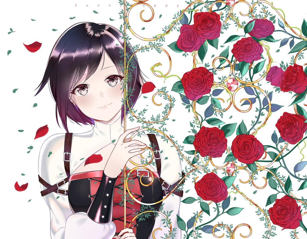Rose Gate by Sunnypoppy