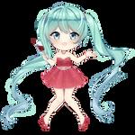 FREE Hatsune Miku pagedoll (New Year 2019)