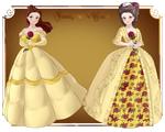 Historically Accurate Belle by Sunnypoppy