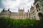 hungarian parliament building  v