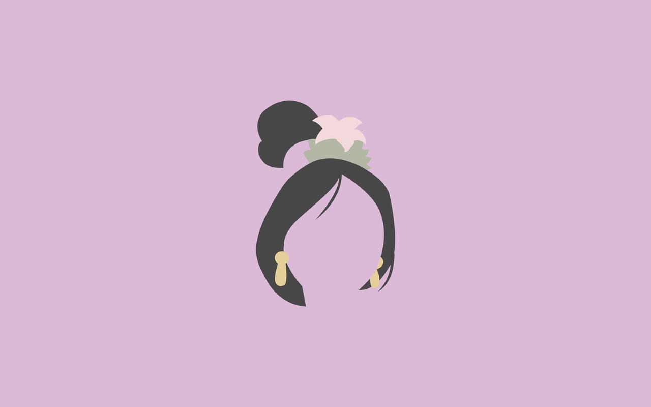 mulan minimalist wallpaper by happiestblue on deviantart
